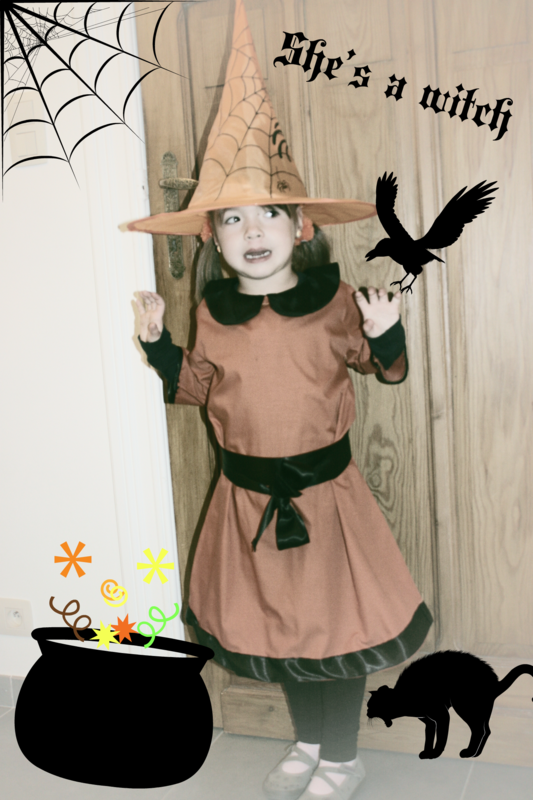 She's a witch