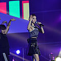 Jolin at asian stars concert in maoming