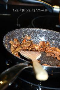 poelée de cepes-poelée champignon-echalotes