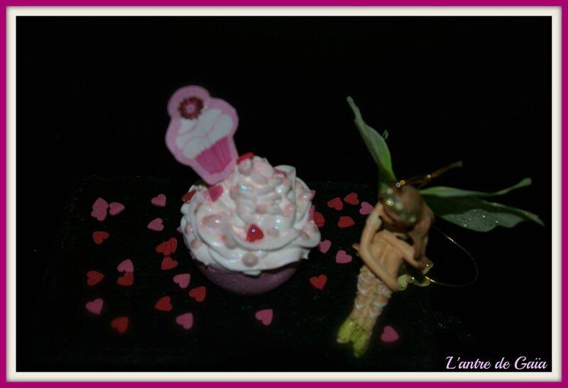 Bombe de bain cupcakes