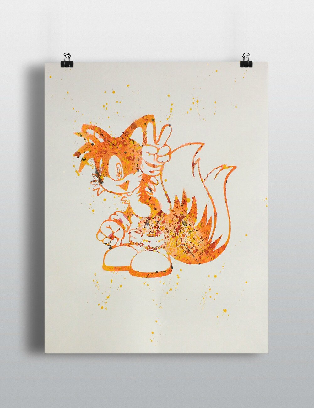 Canvas Tails Art#1 40x50cm