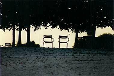 Dialogue dans le parc, © Nathalie Kree