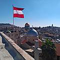 Jérusalaime l'esplanade des mosquées ou mont du temple*.