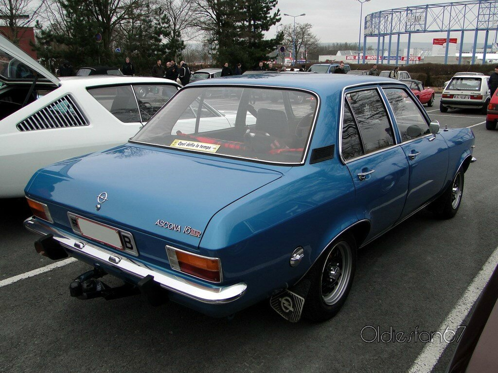 opel ascona a 16sr berline 4 portes 1970 1975 oldiesfan67 mon blog auto. Black Bedroom Furniture Sets. Home Design Ideas