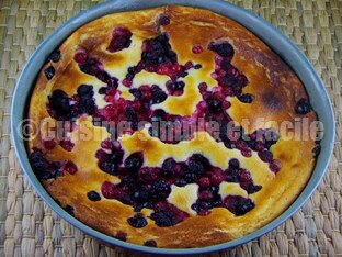 gâteau fromage blanc fruits rouges 04