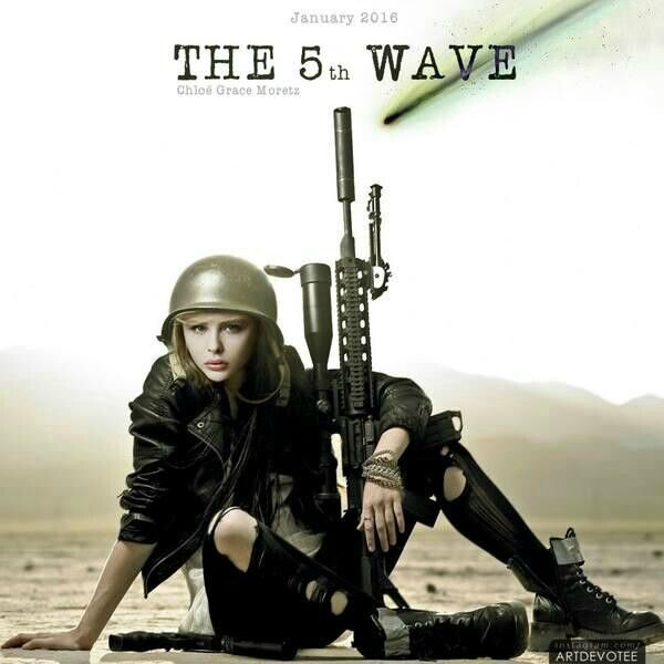 Chloë Grace Moretz dans The 5th Wave