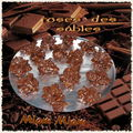 roses des sables en chocolat ...