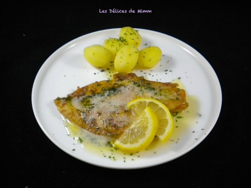 Filets de sole meunière 2