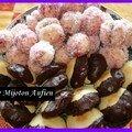 Richbond ou perle de coco à la confiture de fraise