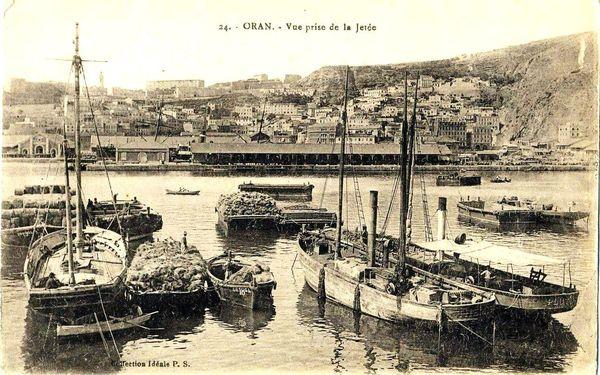 Oran- 130- travail sur les quais