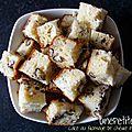 Cake au fromage de chèvre et aux noix