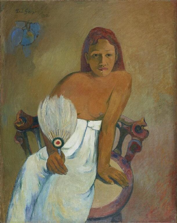 1902 - Jeune fille à l'éventail
