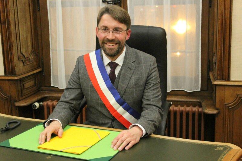 David Nicolas maire Avranches avril 2014