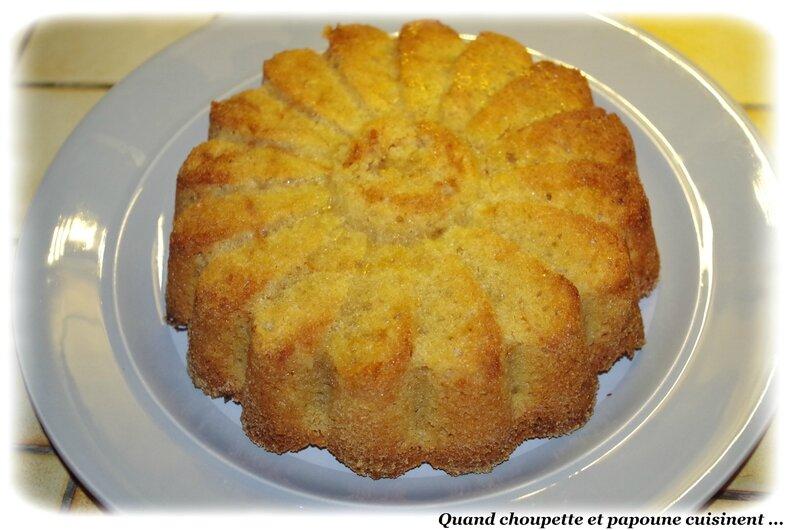 gâteau de semoule à l'orange-3407