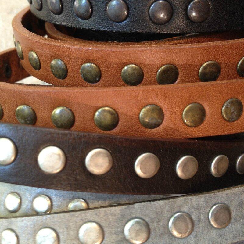 Ceintures cuir fines Faune boutique Avant-Après 29 rue Foch 34000 Montpellier
