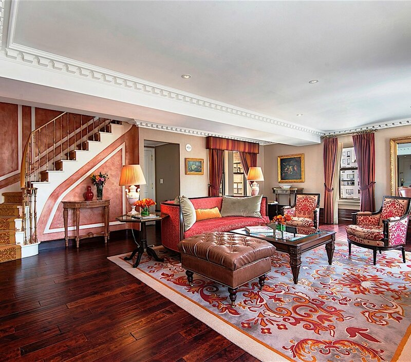 Hotel-Plaza-Athenee-New-York-Suites-Penthouse-Living-Space