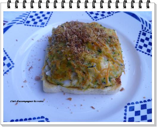merlu, petits légumes sur taost2