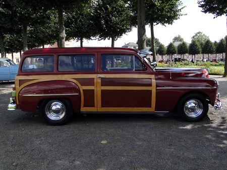 PLYMOUTH Deluxe Suburban Special 2door Woody Wagon 1950 Classic Gala de Schwetzingen 2009 2