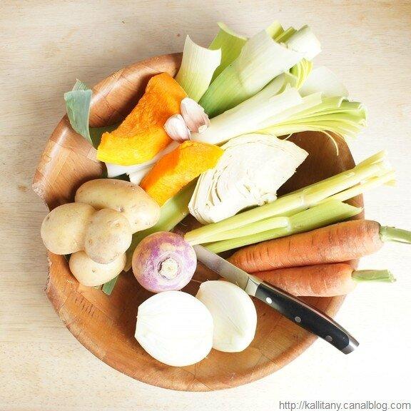 Blog culinaire Kallitany - recette soupe légumes végétarienne au ras el hanout (1)