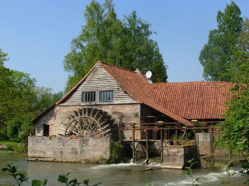 Le moulin de Maintenay (62)