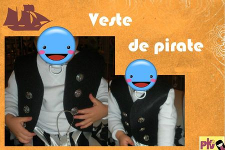 Veste de pirate