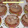 Recette : cupcakes au kit kat