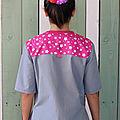 blouse de peinture personnalisée 2