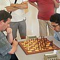 Rapide de l'Echiquier d'Azur 2013 (1) Manuel Apicella vs Brice Aidaoui