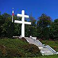 Tags antisémites à la croix du staufen à thann