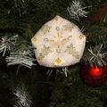 biscornu Noël blanc