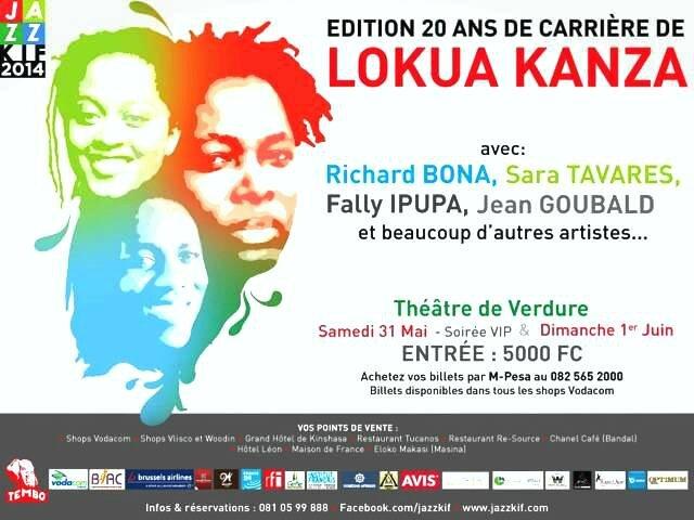 Lokua Kanza: Fête ses 20 ans de carrière musicale!