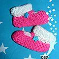 087. chaussons bébé