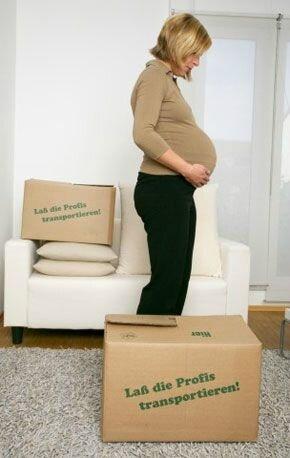 demenagement 3 mois de grossesse
