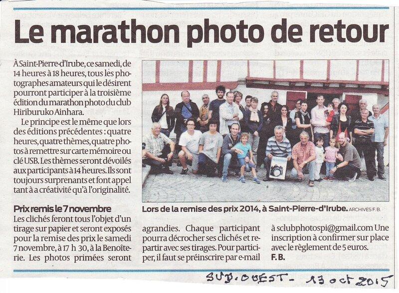 article presse annonce marathon 2915