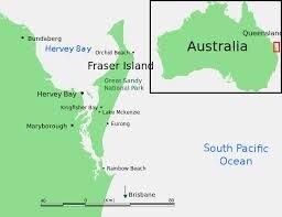 """Résultat de recherche d'images pour """"situer fraser island sur la carte de l'australie"""""""