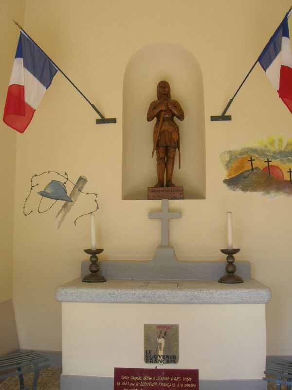 7 - A l'ntérieur de la chapelle
