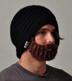 tricoter une barbe