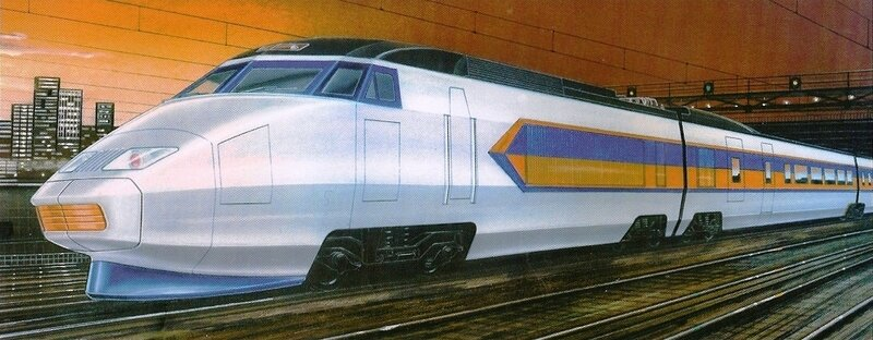Livre Cooper p102R Projet TGV Amtrac