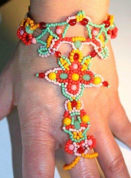 Bracelet-bague Gaïa