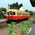 Kiha 200 de la Kominato Tetsudô à Kazusa Nakano eki