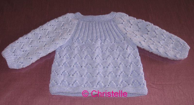 tricot layette bebe
