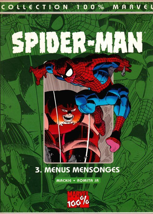100% spiderman 3 menus mensonges