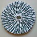 Frisbee zébré bleu #fgc005