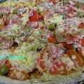 Pizza Santé au seigle