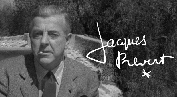 La table d'écriture rend hommage à Jacques Prévert