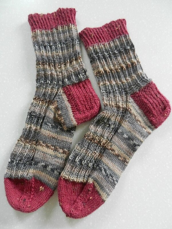 Côtes Brisées Socks 1