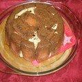 Charlotte aux biscuit rose de reims façon tiramisu