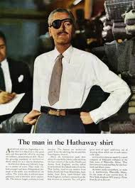 mid century ads hathaway
