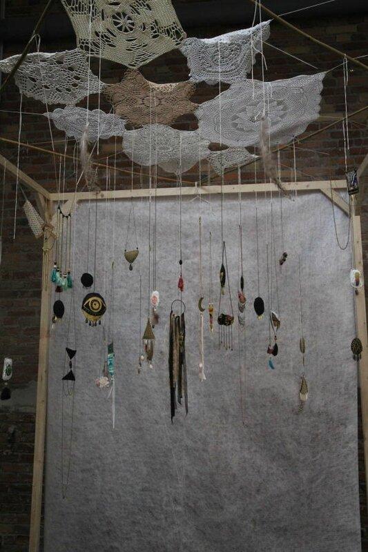 Marion Hinageshii, artiste textile