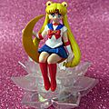 Gashapon sailor moon à poser sur un verre